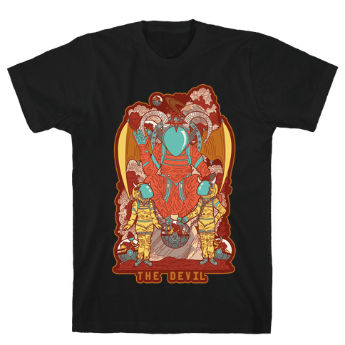 The Devil in Space Mens T-Shirt