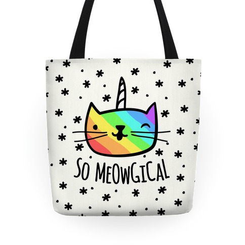 So Meowgical Tote