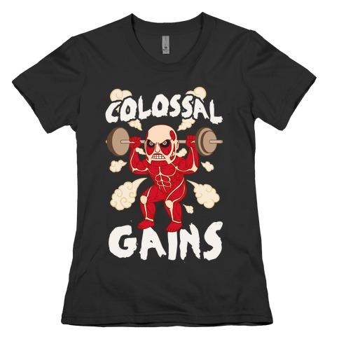 Colossal Gains (AoT) Womens T-Shirt