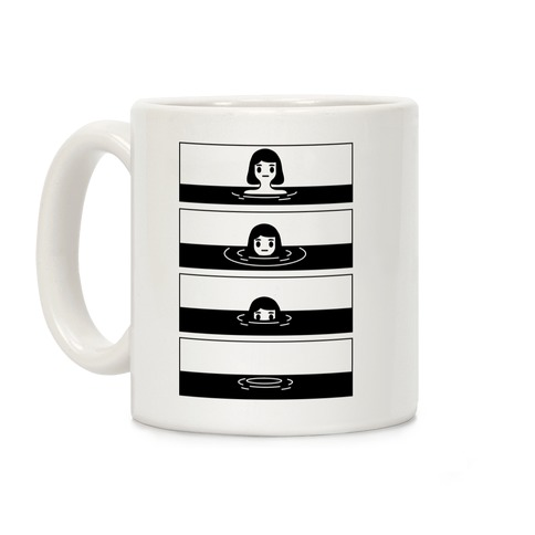 Sinking Girl Coffee Mug