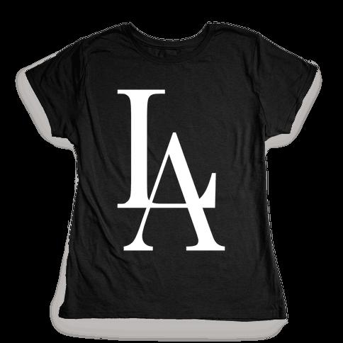 LA (Dark Tank) Womens T-Shirt
