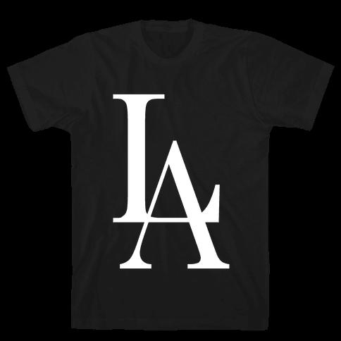 LA (Dark Tank) Mens T-Shirt