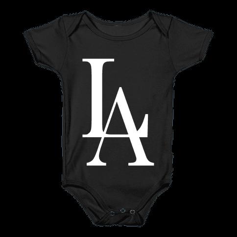 LA (Dark Tank) Baby Onesy