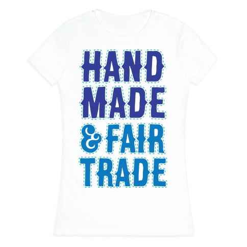 Handmade & Fair Trade Womens T-Shirt