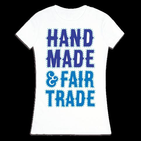 Handmade & Fair Trade Womens T-Shirt