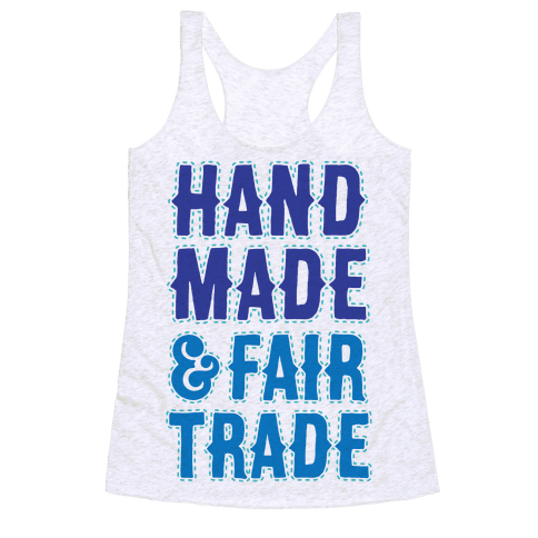 Handmade & Fair Trade Racerback Tank Top