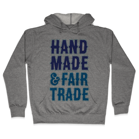 Handmade & Fair Trade Hooded Sweatshirt