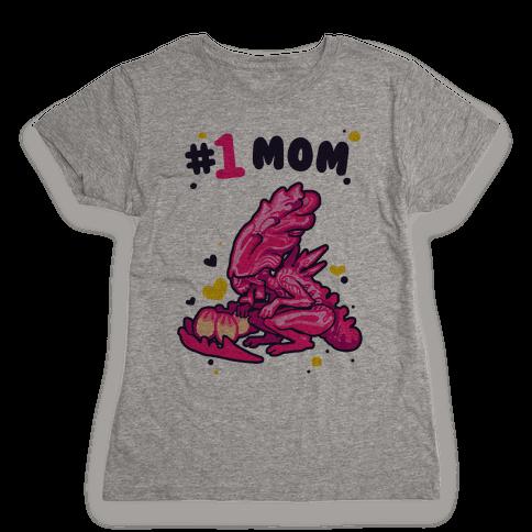 Alien Queen #1 Mom Womens T-Shirt