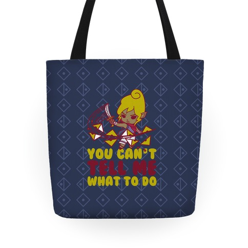 You Can't Tell Tetra What to Do Parody Tote