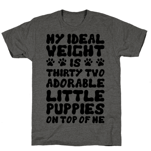Ideal Weight (Puppies)