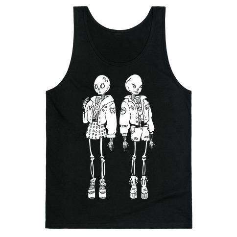 Skeleton Girls Tank Top