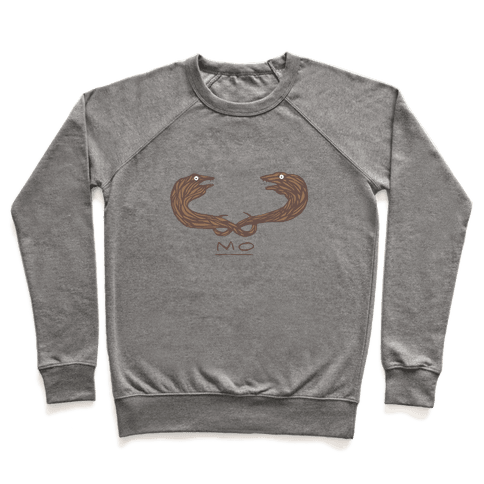 Mo-ray Eel Mustache Pullover