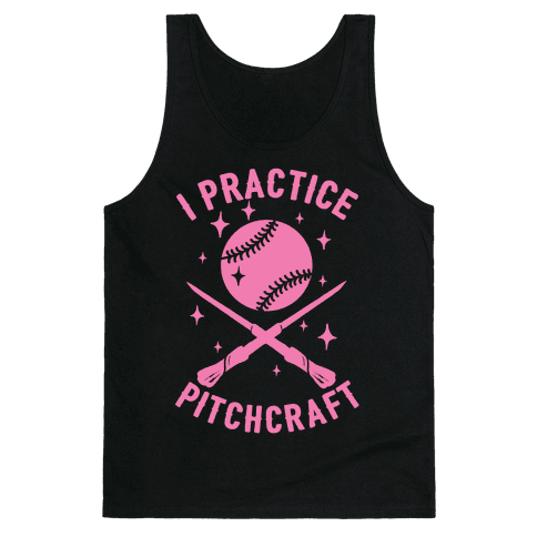 I Practice Pitchcraft Tank Top
