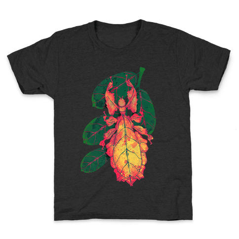 Phylliidae Walking Leaf Kids T-Shirt