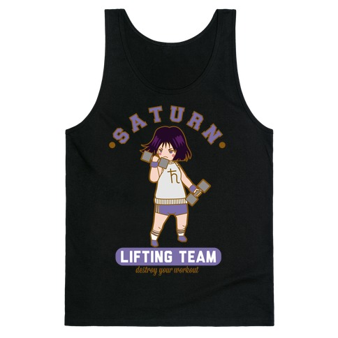 Saturn Lifting Team Parody Tank Top