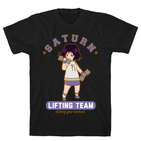 Saturn Lifting Team Parody T-Shirt