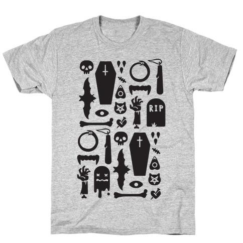 Simple Halloween Pattern T-Shirt