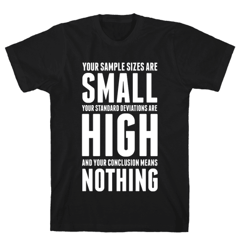 Bad Science Mens T-Shirt
