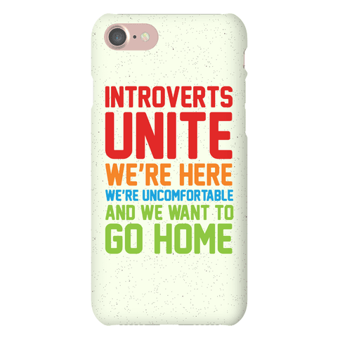 Introverts Unite! We're Here, We're Uncomfortable And We Want To Go Home