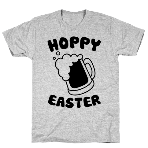 Hoppy Easter Mens T-Shirt