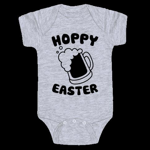 Hoppy Easter Baby Onesy