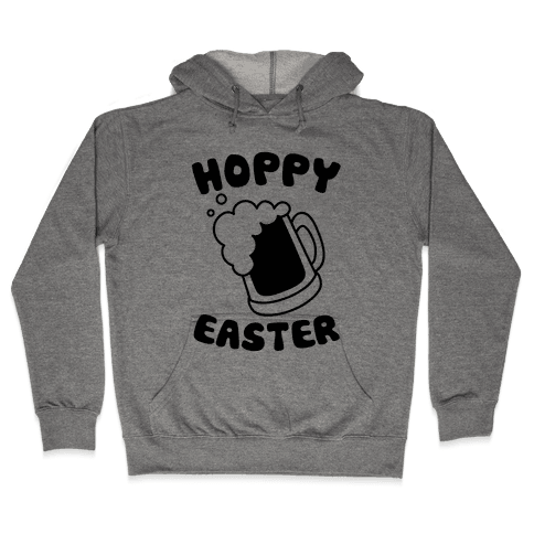Hoppy Easter Hooded Sweatshirt