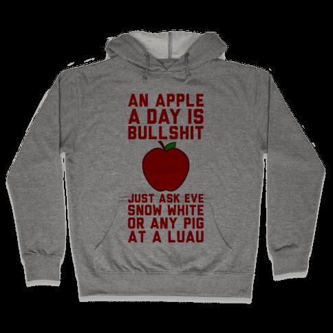 An Apple A Day Hooded Sweatshirt