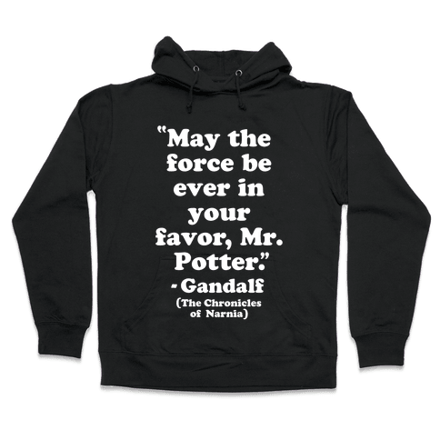 May The Force Be Ever In Your Favor Hooded Sweatshirt