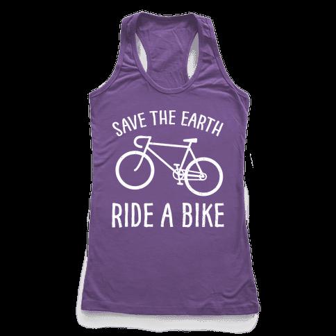 Save The Earth Ride A Bike