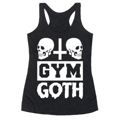 Gym Goth Racerback Tank Top