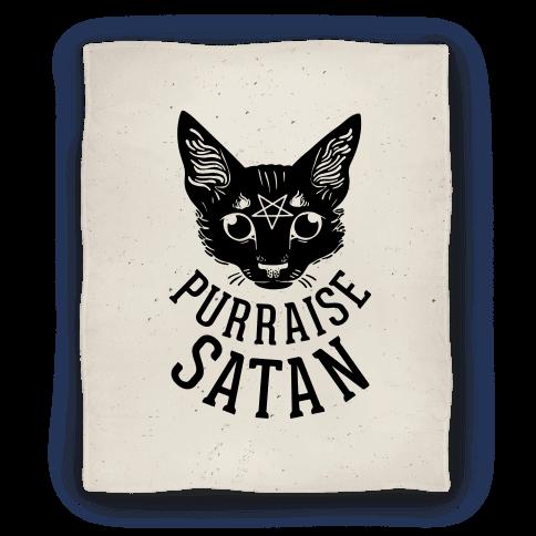 Purraise Satan Blanket