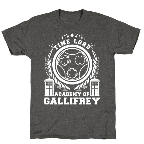 Time Lord Academy of Gallifrey T-Shirt
