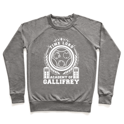 Time Lord Academy of Gallifrey Pullover