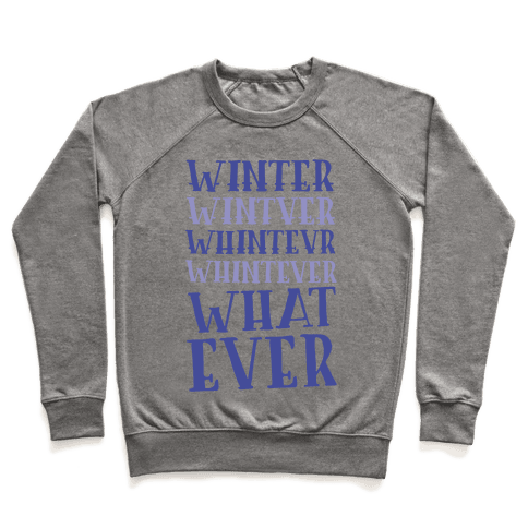 Whatever Winter Pullover