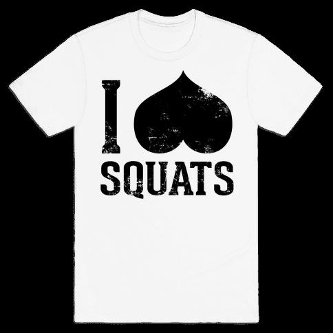 Squats (Tank) Mens T-Shirt