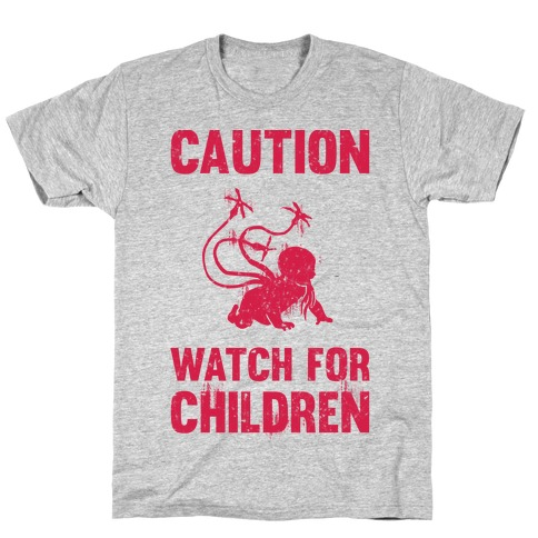 Caution Watch For Children T-Shirt