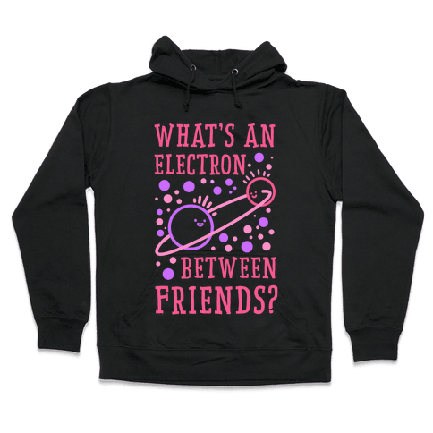What's An Electron Between Friends? Hooded Sweatshirt