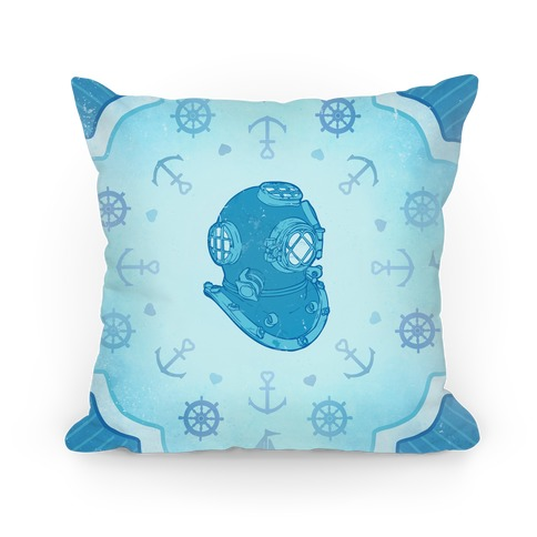 Divers Helmet Pillow
