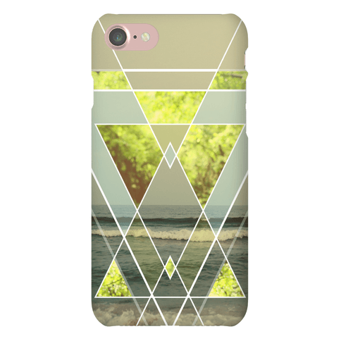 Trendy Geometric Outdoor Triangles Phone Case