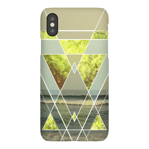 Trendy Geometric Outdoor Triangles Phone Case
