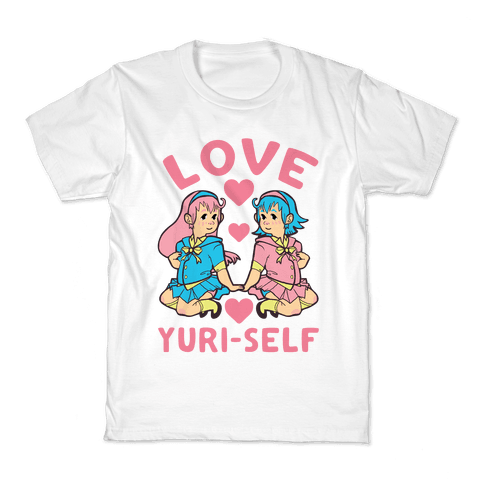 Love Yuri-Self Kids T-Shirt