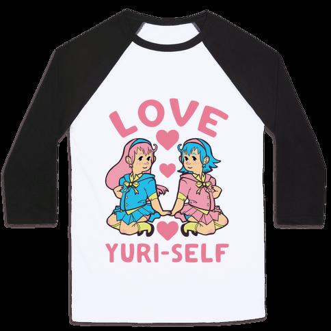 Love Yuri-Self Baseball Tee