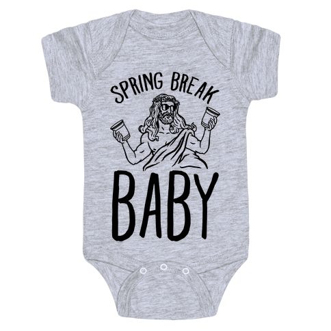 Spring Break Baby Baby Onesy