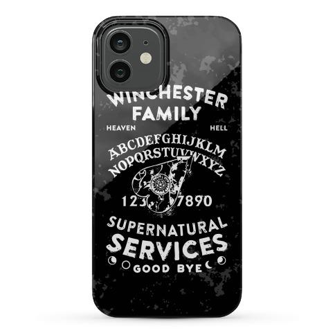 Winchester Family Ouija Board Phone Case