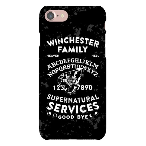 Winchester Family Ouija Board Phone Case