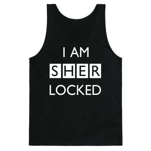 I am Sherlocked Tank Top