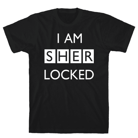 I am Sherlocked Mens T-Shirt