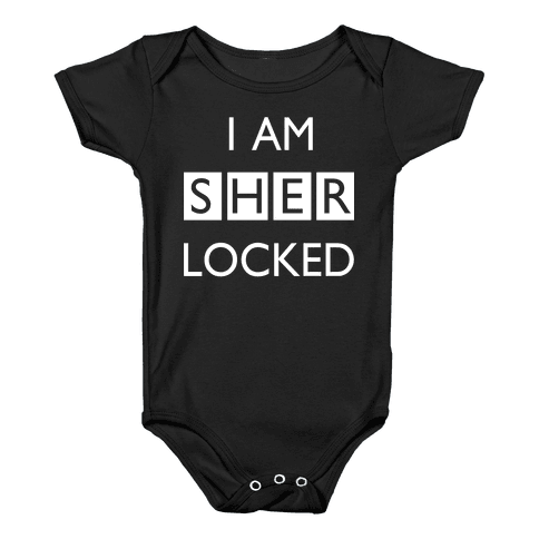 I am Sherlocked Baby Onesy