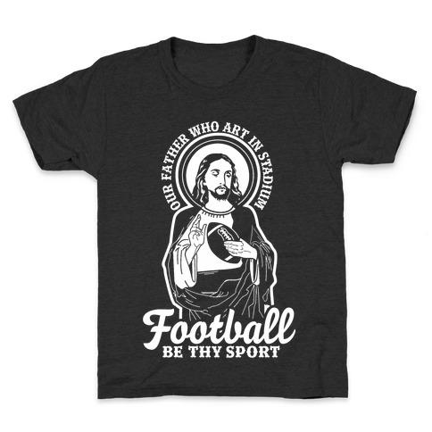 Football Jesus Kids T-Shirt