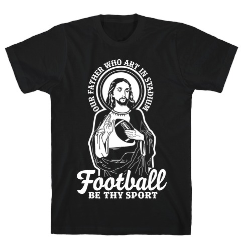 Football Jesus T-Shirt